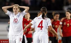 England Women were overwhelmed in China